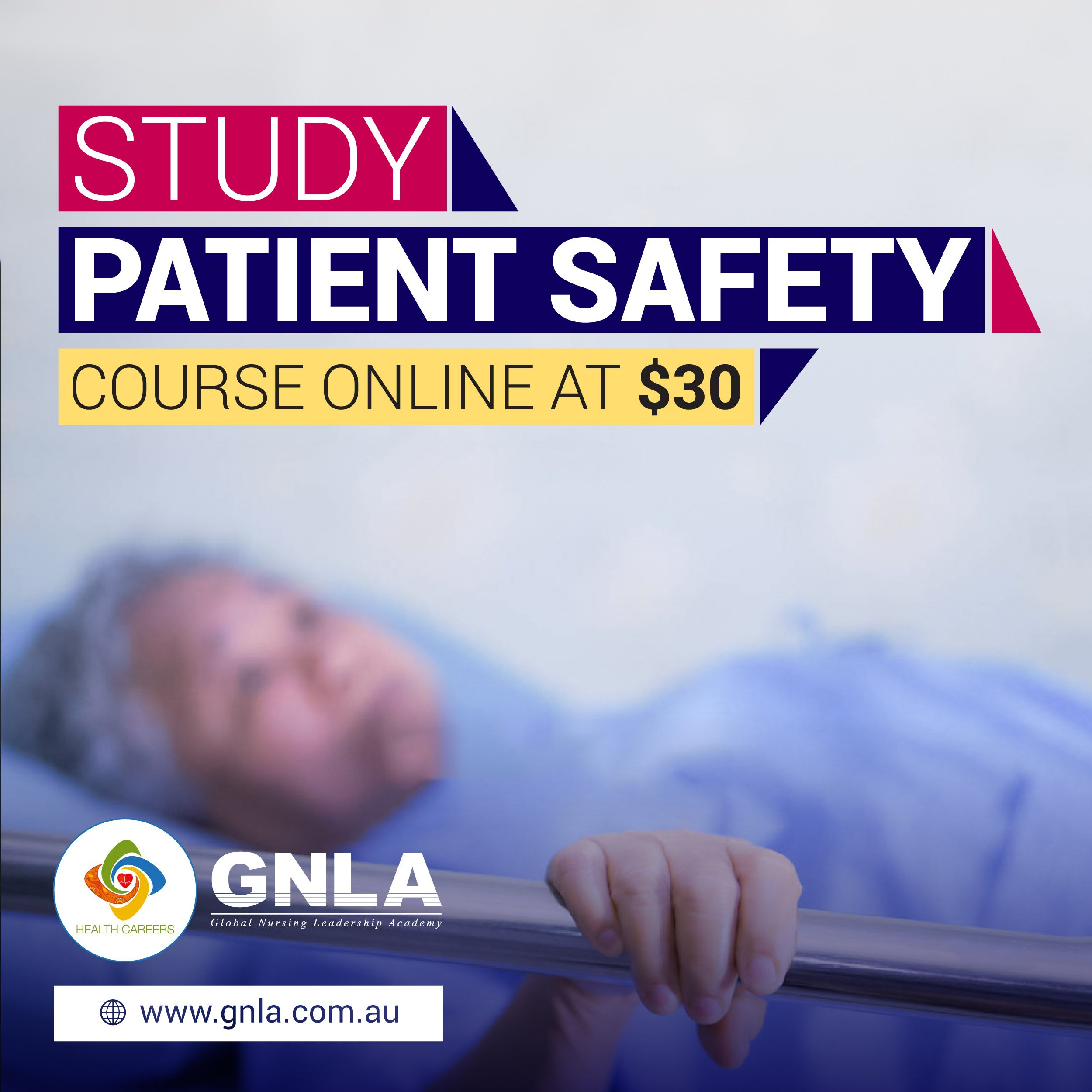 Study Patient Safety Course Online @ GNLA. #PatientSafety