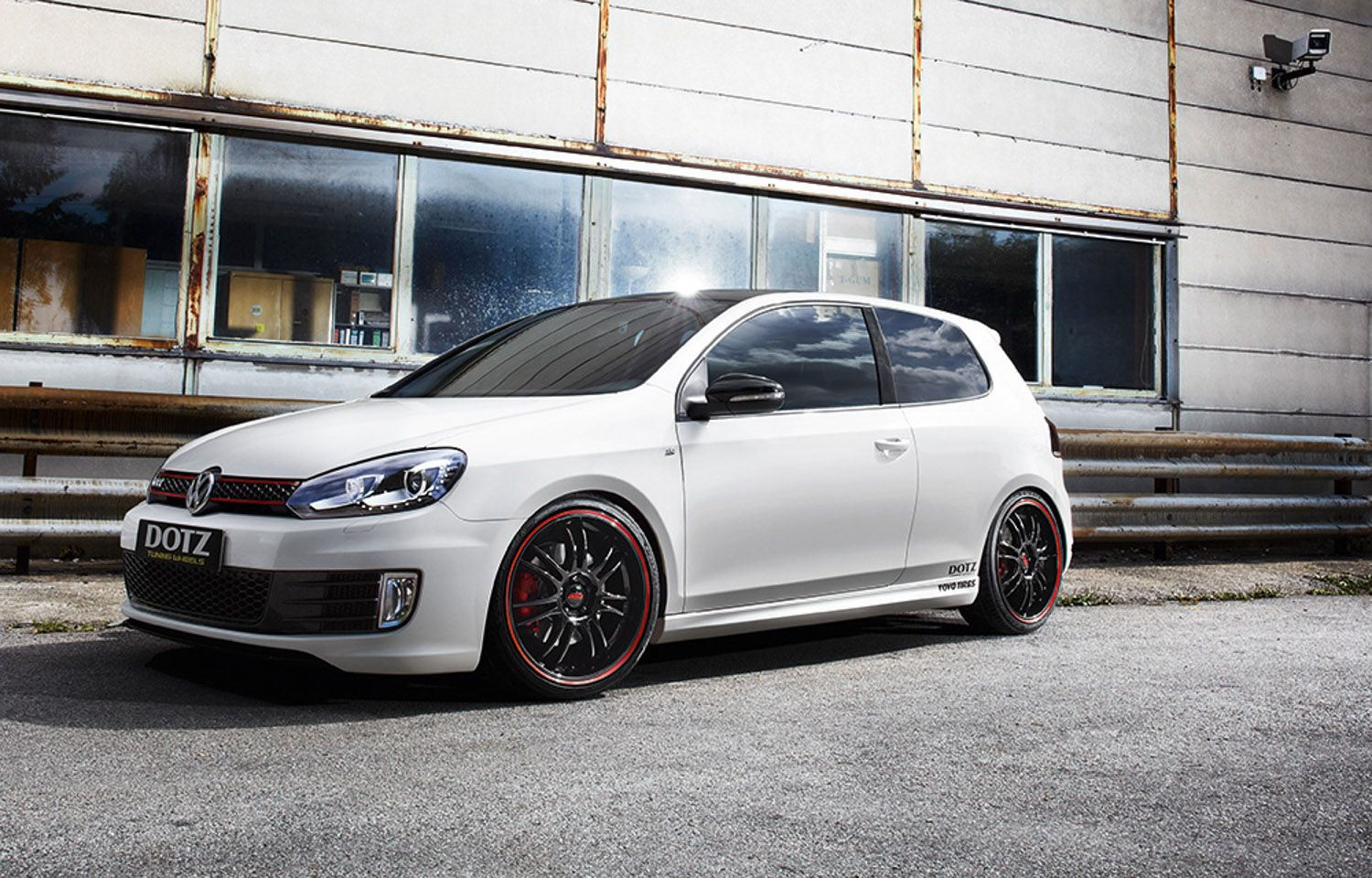 vw golf gti edition 35 on dotz shift pinstripe red car car wallpapers red. Black Bedroom Furniture Sets. Home Design Ideas