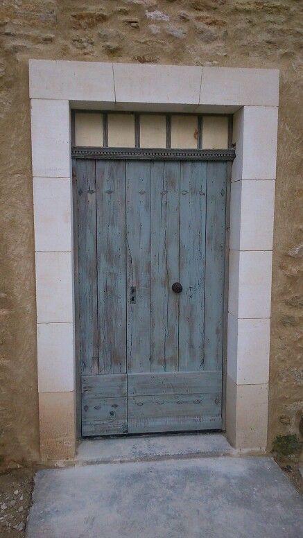 Porte d 39 entr e rustique type ferme http www for Porte type saloon