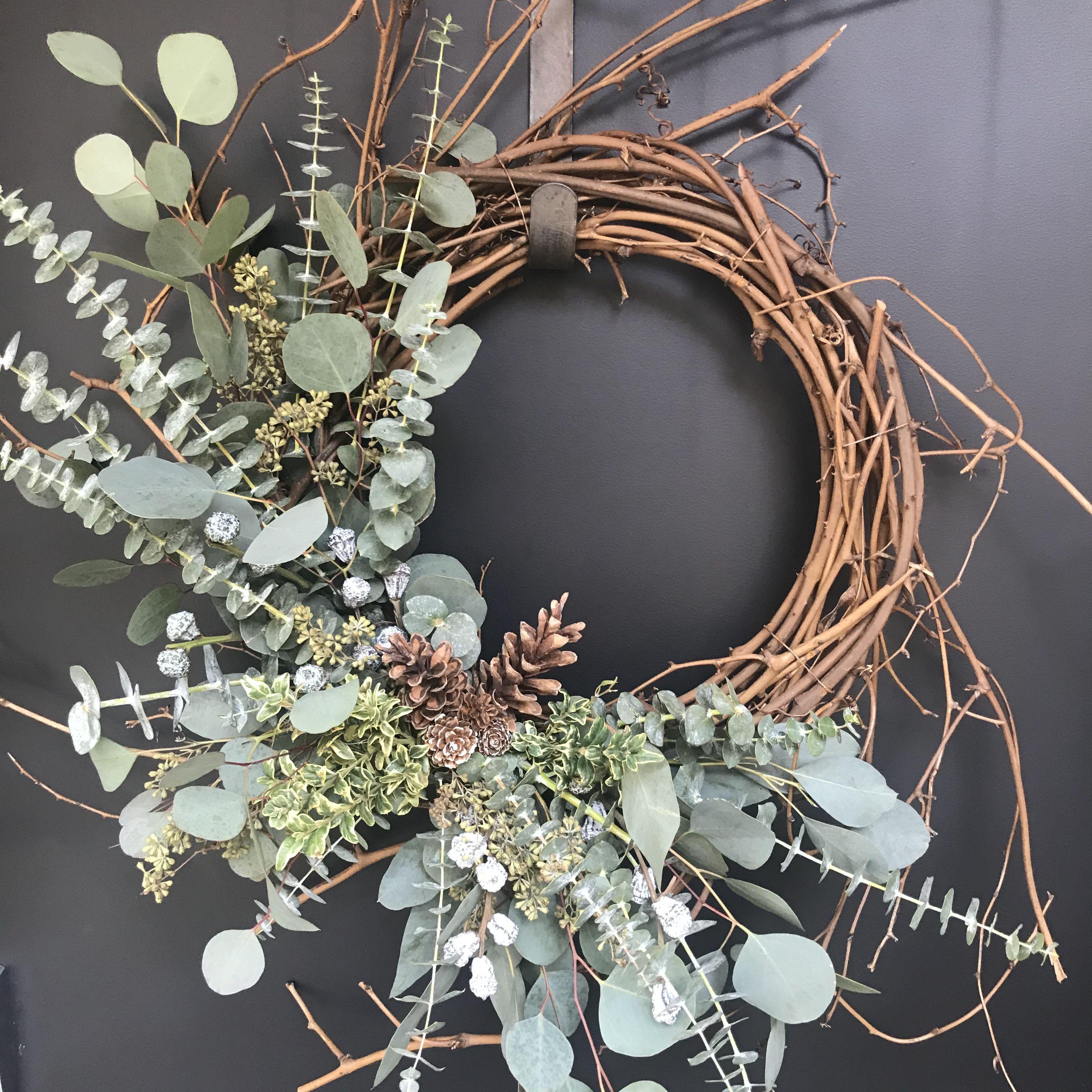 Photo of Eucalyptus wreath #eucalyptus #wreath