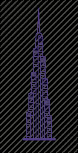 Image result for burj khalifa 2d