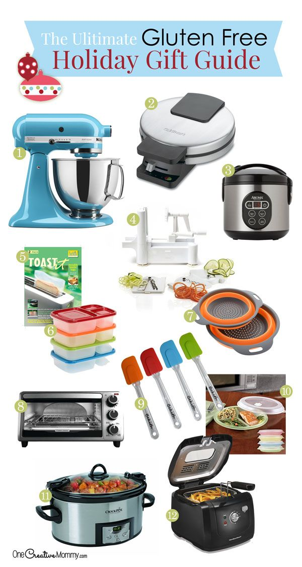 The Ultimate Gluten Free Holiday Gift Guide! (With images ...