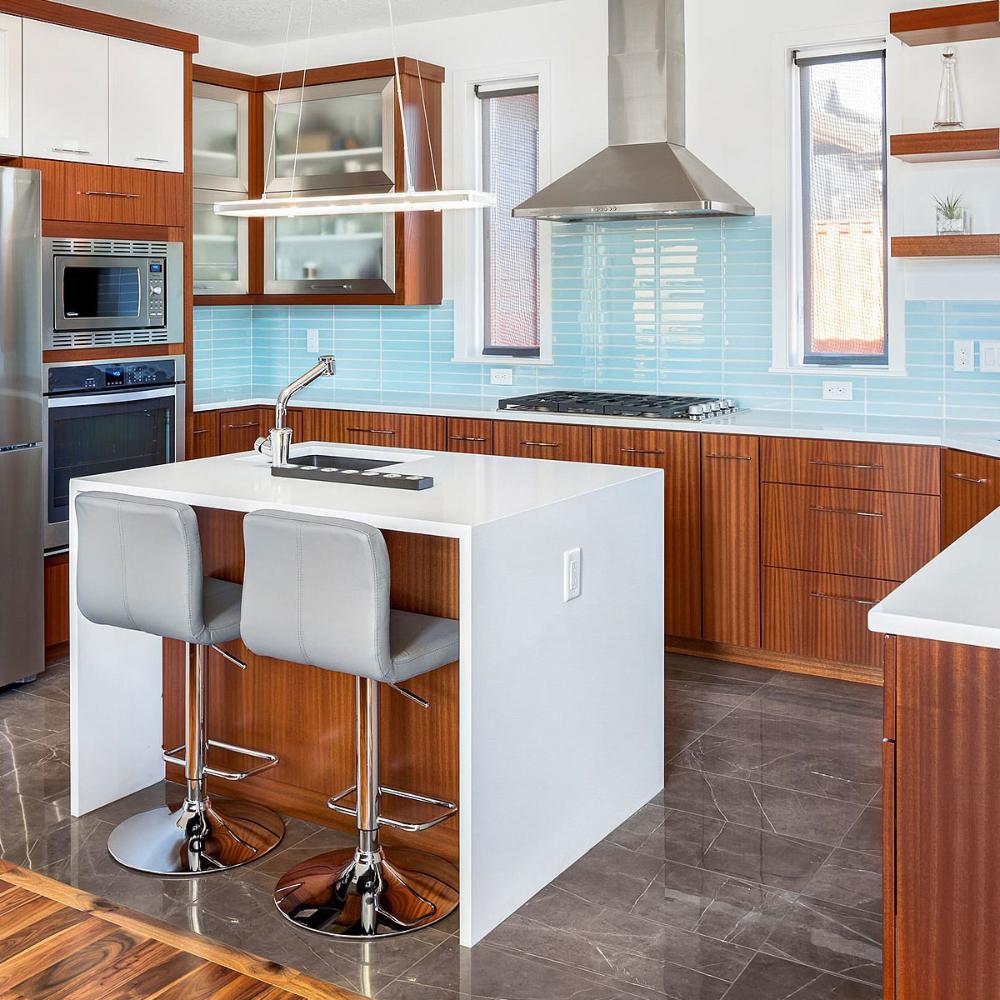 kitchen backsplash with light wood cabinets - Google ...