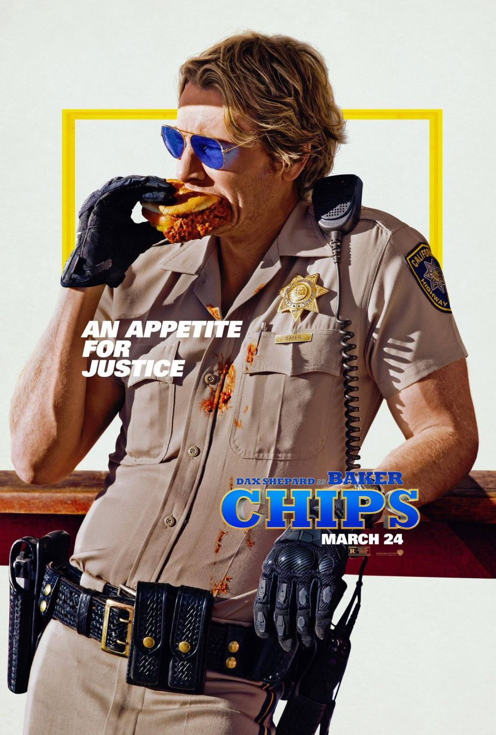 CHiPs Movie Posters with Michael Pena and Dax Shepard http