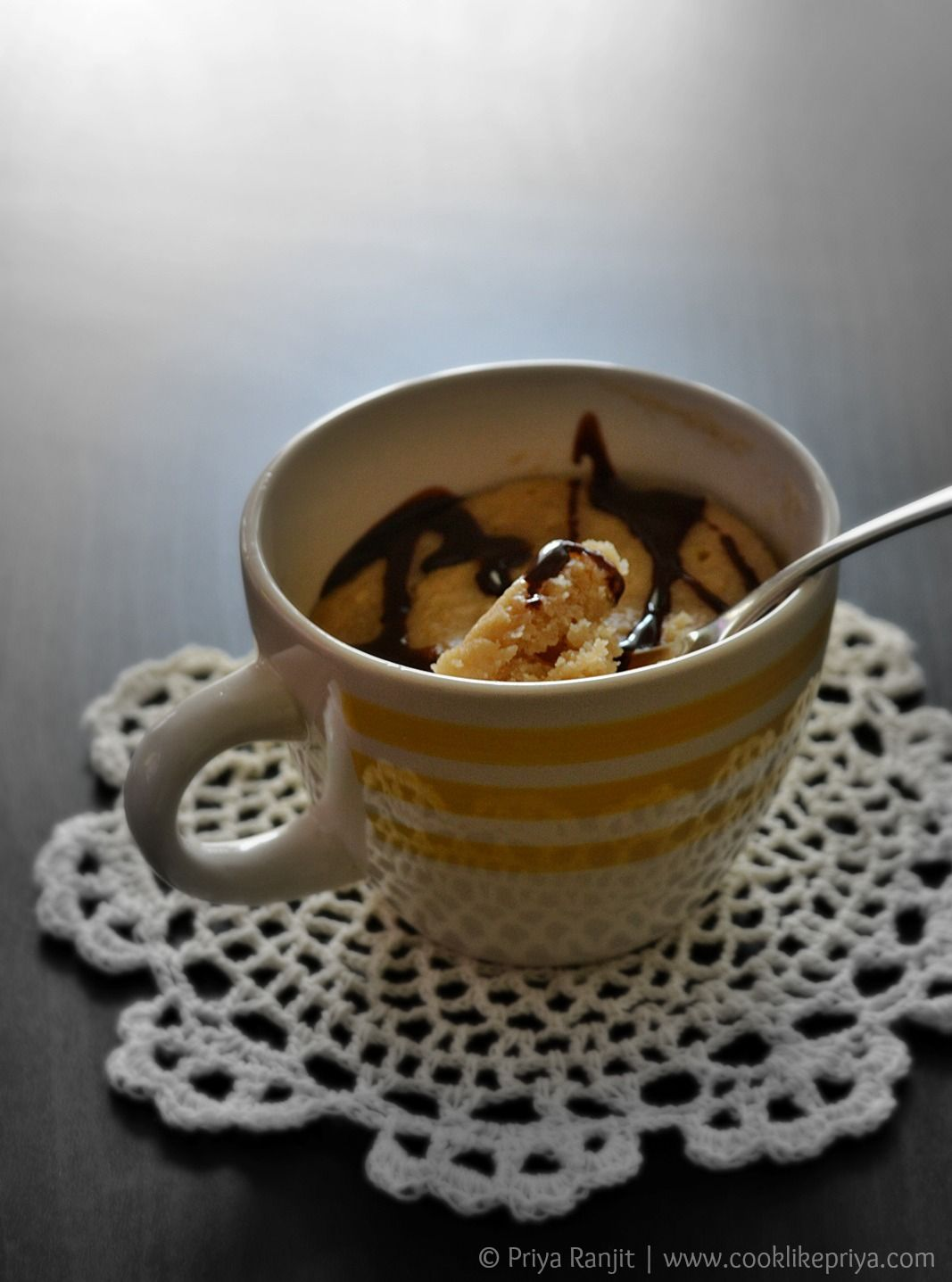 Eggless Mug Cake Recipe   Vanilla mug cakes, Mug cake ...