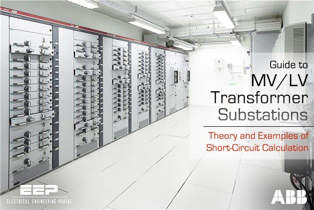 MVLV transformer substations theory and examples of