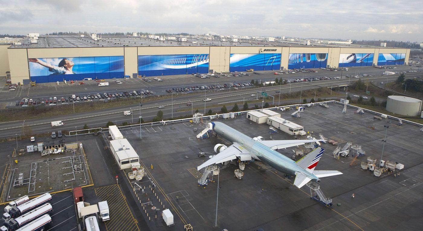 Resultado de imagen para Boeing 777 Everett