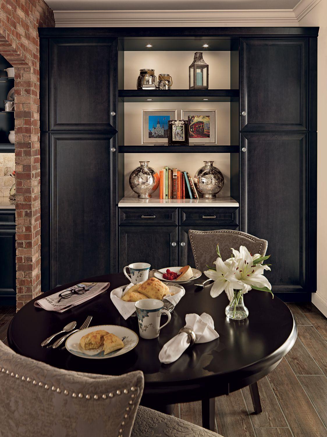merillat classic bayville maple dusk breakfast nook - Merillat Classic Kitchen Cabinets