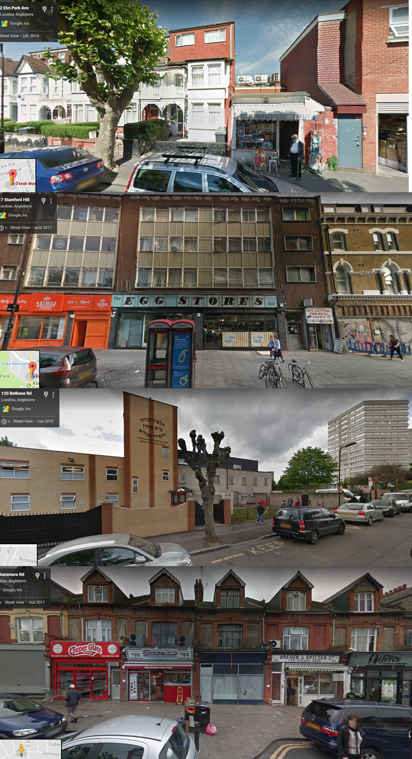 street view torah world stamford hill london