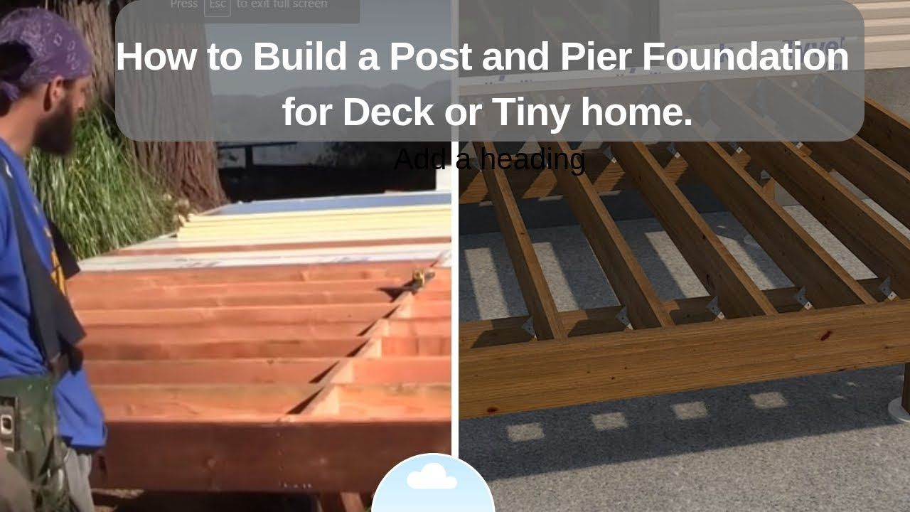 post and pier foundation Google Search (With images