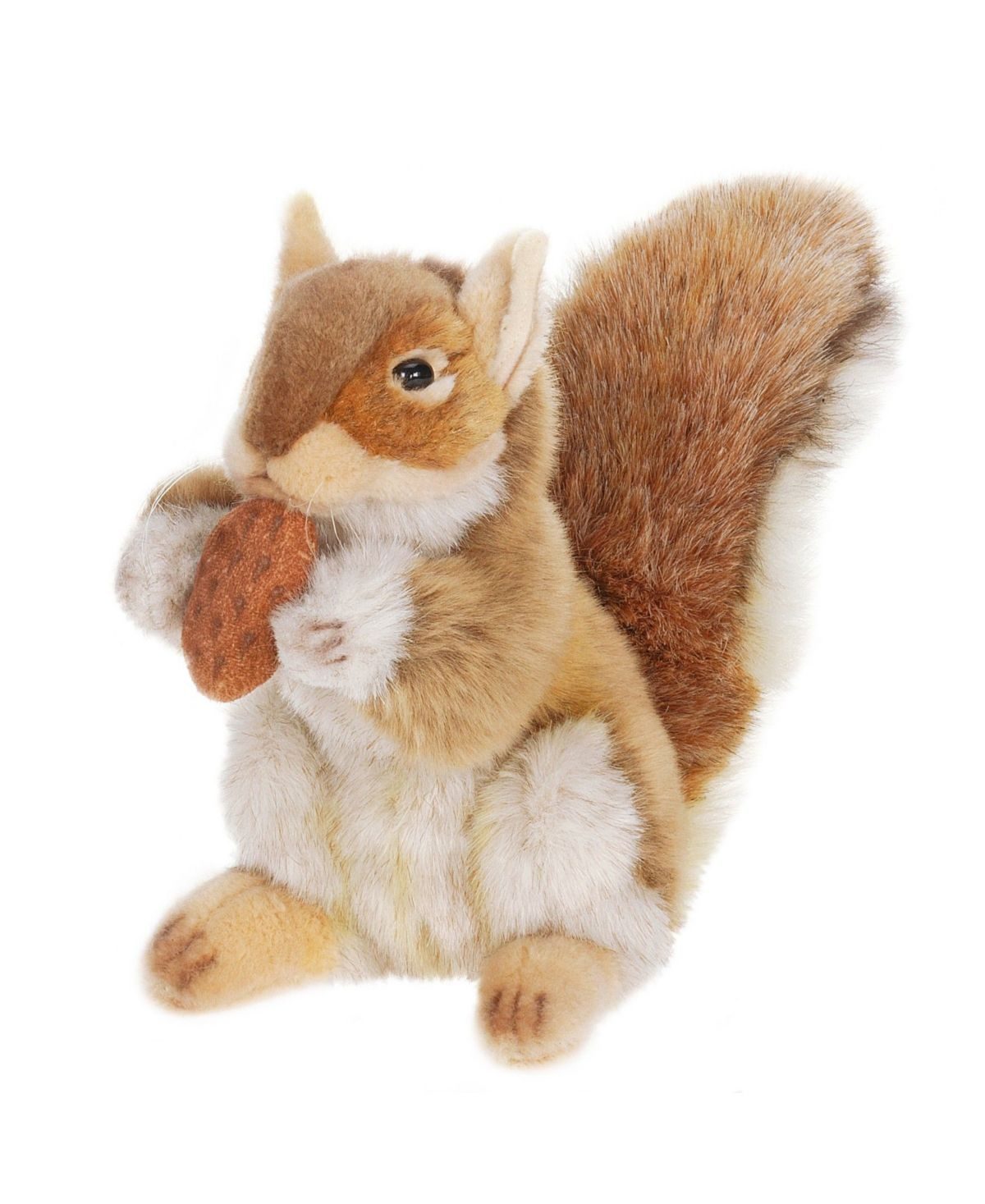 Hansa Squirrel With Nut Plush Toy Reviews Home Macy S In 2020 Realistic Stuffed Animals Squirrel Plush Animals [ 1467 x 1200 Pixel ]