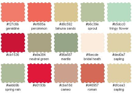 French Country Rustic Color Palette Color Palette
