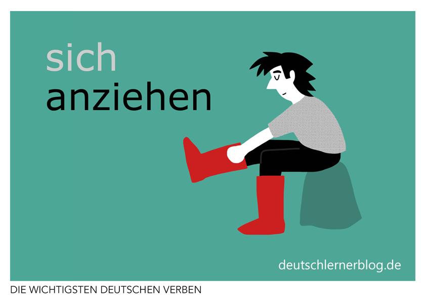 Anziehen Konjugation Bedeutungen Beispiele Synonyme Mehr Deutsch Lernen Deutsche Worter Redewendungen