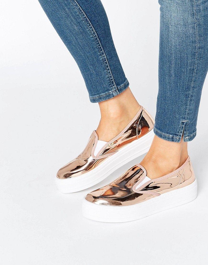 Image 1 of River Island Slip On Sneaker