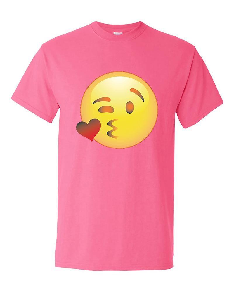 Wink Face Emoji Funny Winking Eye Smile Face Emoji T-Shirt