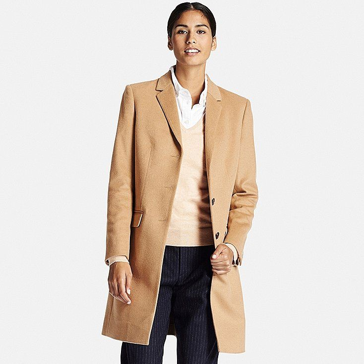 Women wool cashmere chester coat | Chester, Cashmere and Uniqlo
