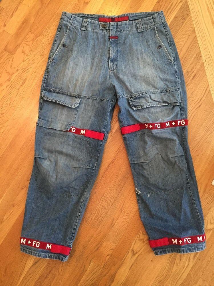 258b6ce552 Men's Marithe Francois Girbaud 40 Baggy Denim Jeans. Inseam 31