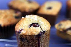 Bakerella banana blueberry muffins
