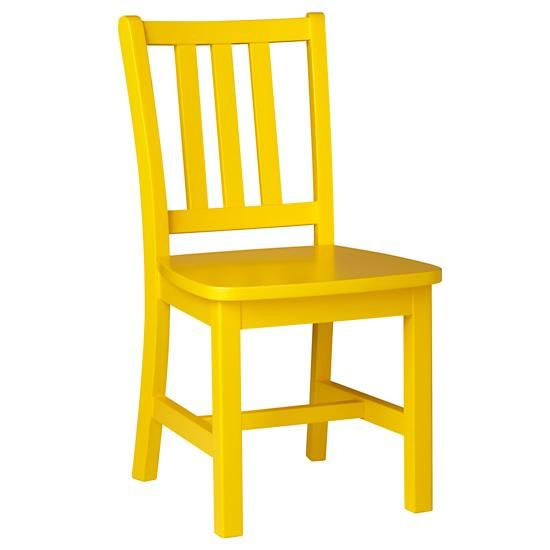 Parker Play Chair (Bright Yellow) In Play Chairs | The Land Of Nod