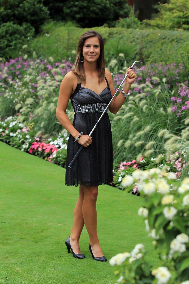 CHONBURI - FEBRUARY 22: Azahara Munoz Golfer From Spain In Honda ...