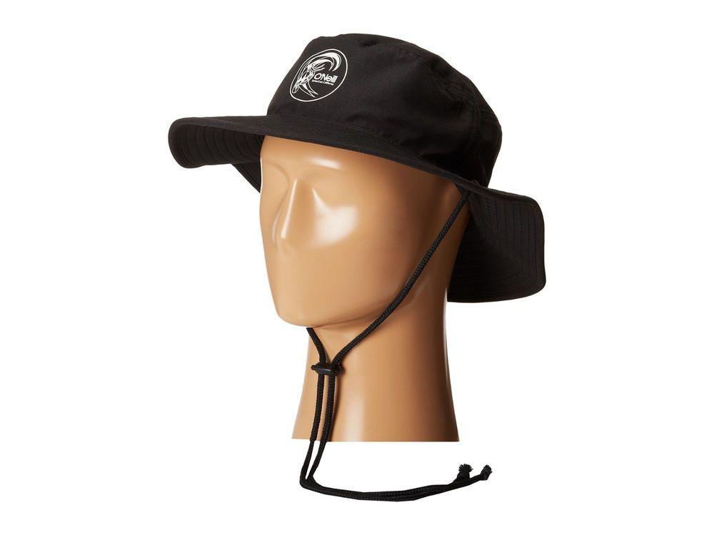 Oneill Skate Surf sport DRAFT black fashion Boonie Bucket Hat one size NEW   ONeill  Bucket 6630d534693