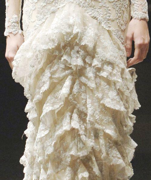 alexander mcqueen autumn/winter 2006-2007 luscious lace