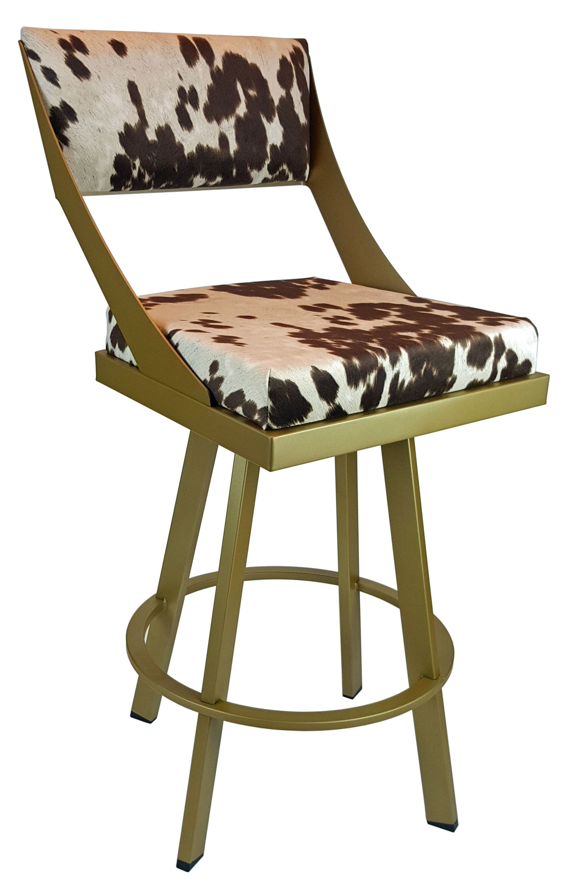 BarStools / Counter Stools Swivel Counter Stool in Gold