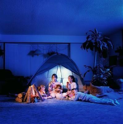 Living Room Camp Out So Fun Plus No Mosquitos