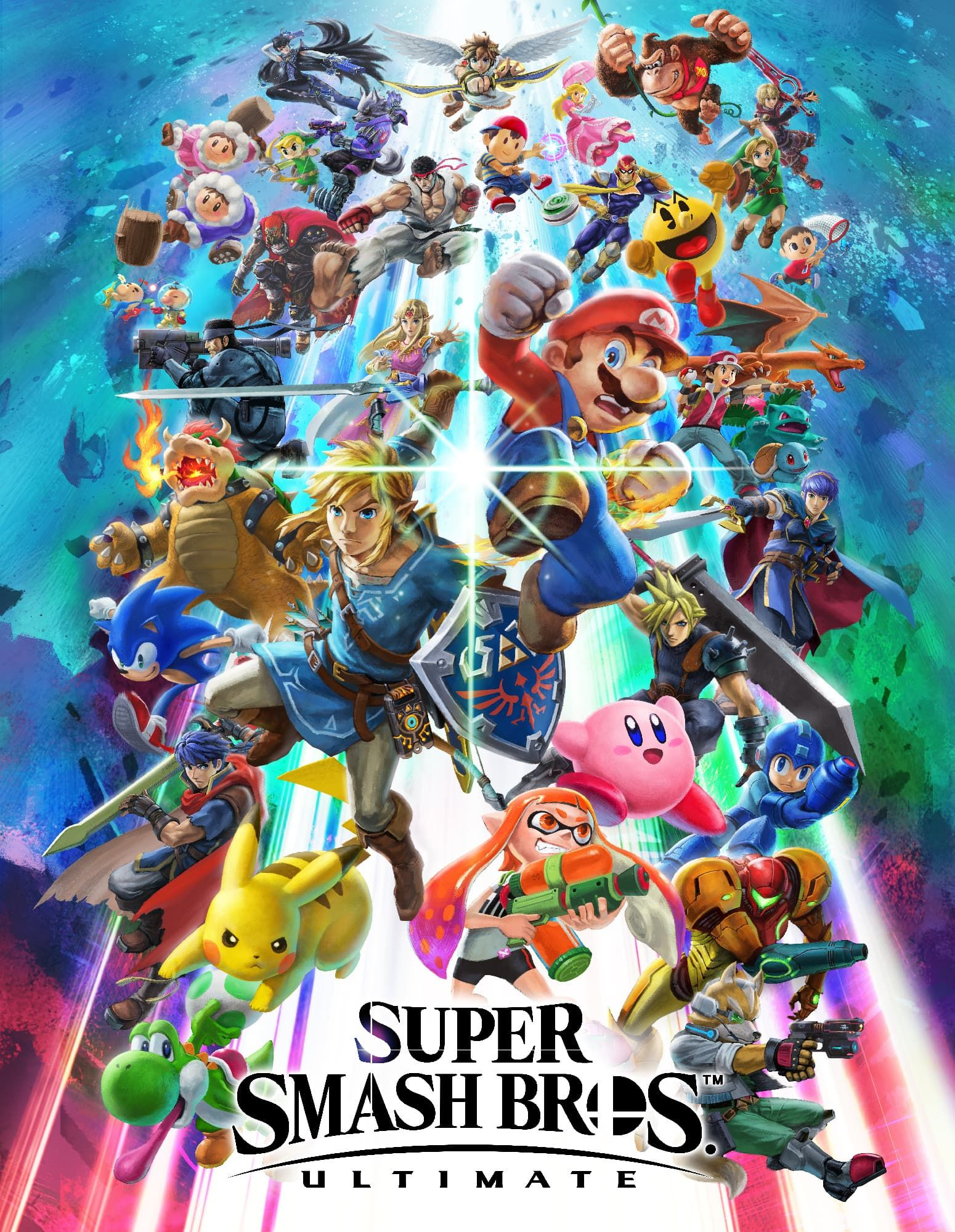 super smash bros ultimate box art super smash bros pinterest