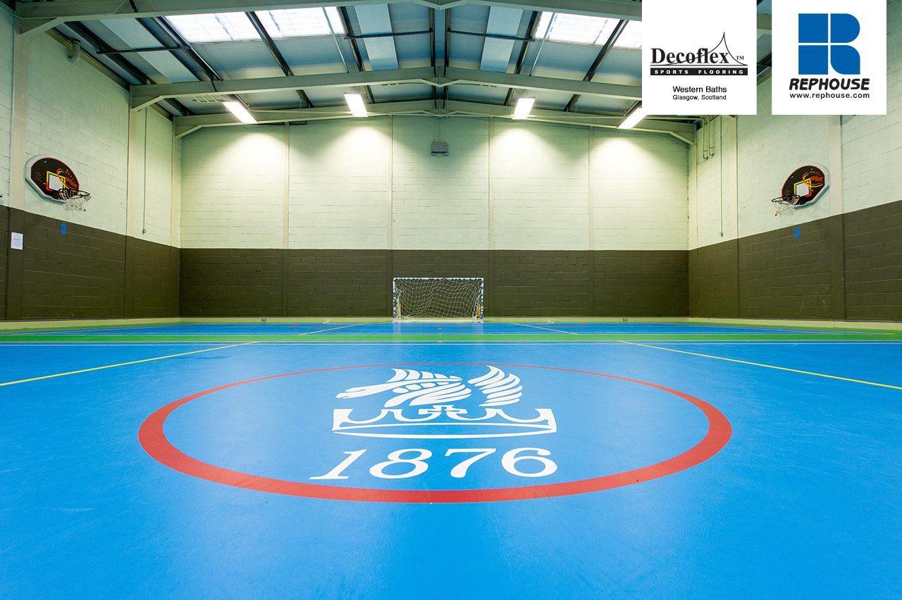 Decoflex Universal Indoor Sports Flooring Western Baths Scotland Western Baths Gym Flooring Rubber Gym Flooring
