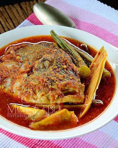 Dapur Tanpa Sempadan Asam Pedas Kepala Ikan Makanan Sehari Hari Resep Masakan Malaysia Makanan