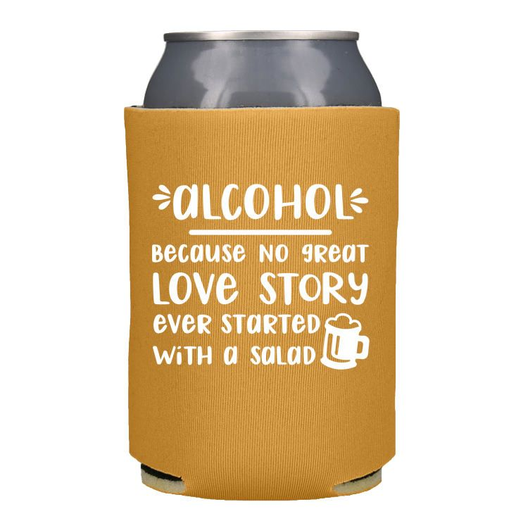 Check Out This Customizable Product From Www Totallypromotional Com Wedding Premium Foam Can Cooler Html Te Wedding Koozies Funny Wedding Koozies Beer Wedding