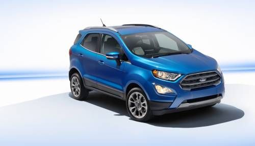 Ford Shows Us Bound Revamped Ecosport Subcompact Crossover Ford