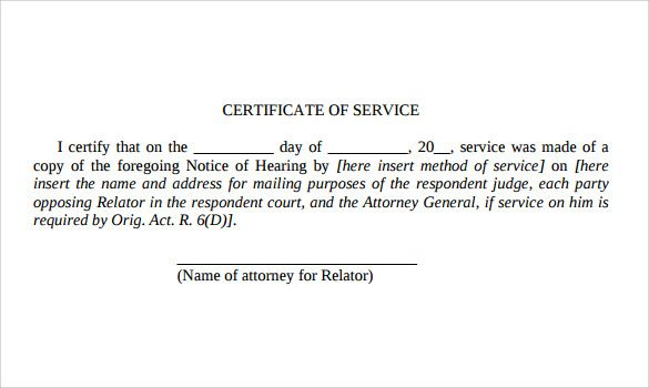 Statement Of Service Army Example Statement Of Service Statement Template Birth Certificate Template Statement