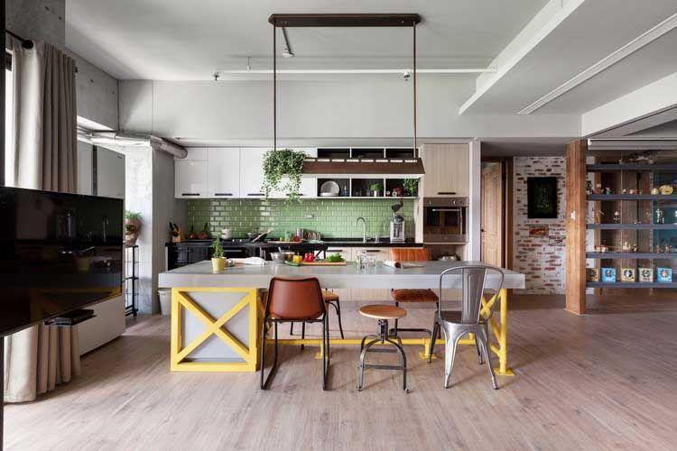 appartement au style industriel et vintage la dco intrieure - Decoration Interieur Style Industriel