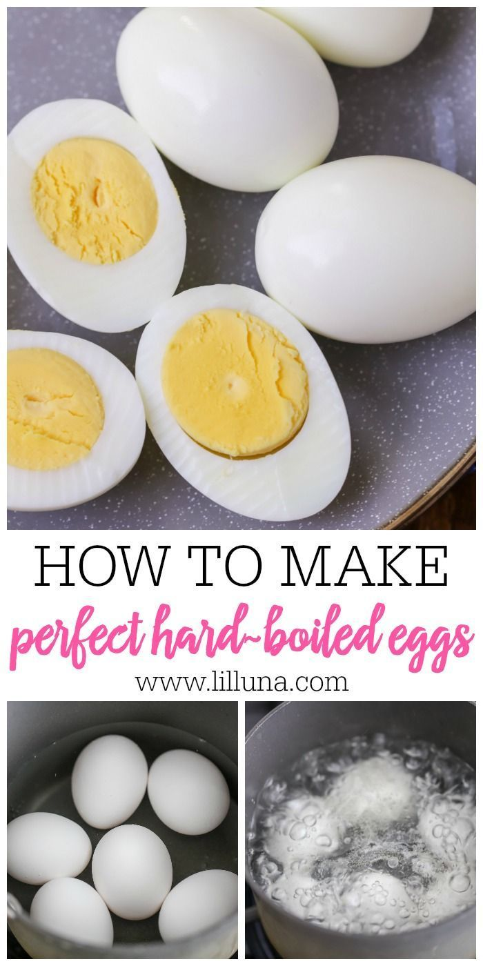 How to Boil the Perfect Egg - Step by Step (+VIDEO) | Lil' Luna