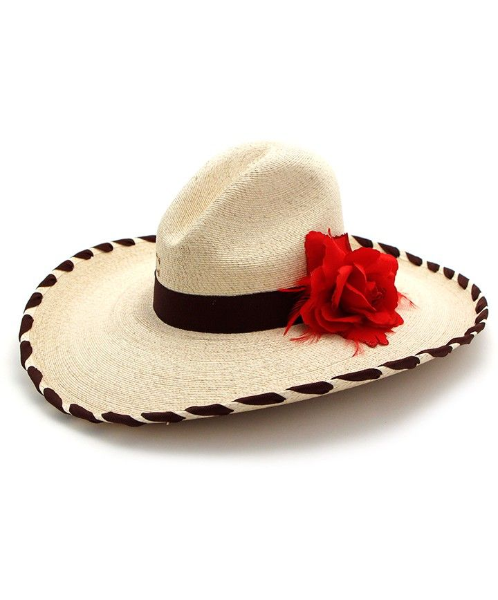 Charlie 1 Horse Stella Straw Hat with Rose at Maverick Western Wear ... 63a464052c38