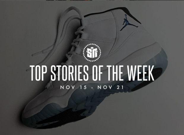 Top Sneaker Stories Of | The Week (11/15 11/21) | Of Sneaker nuevos 665daf