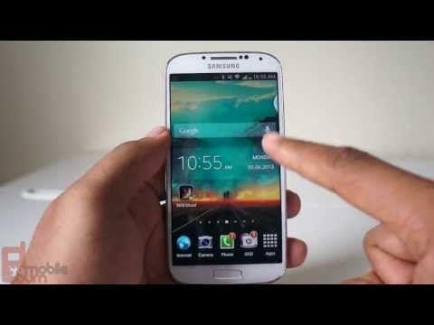 Samsung Galaxy S 4 Tips Improve Home button, Air View, Multi