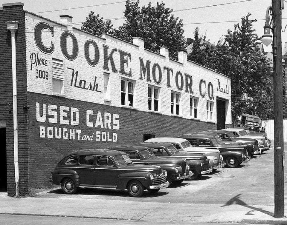 Cooke Motor Co. Used car lots, Used cars, Cars for sale