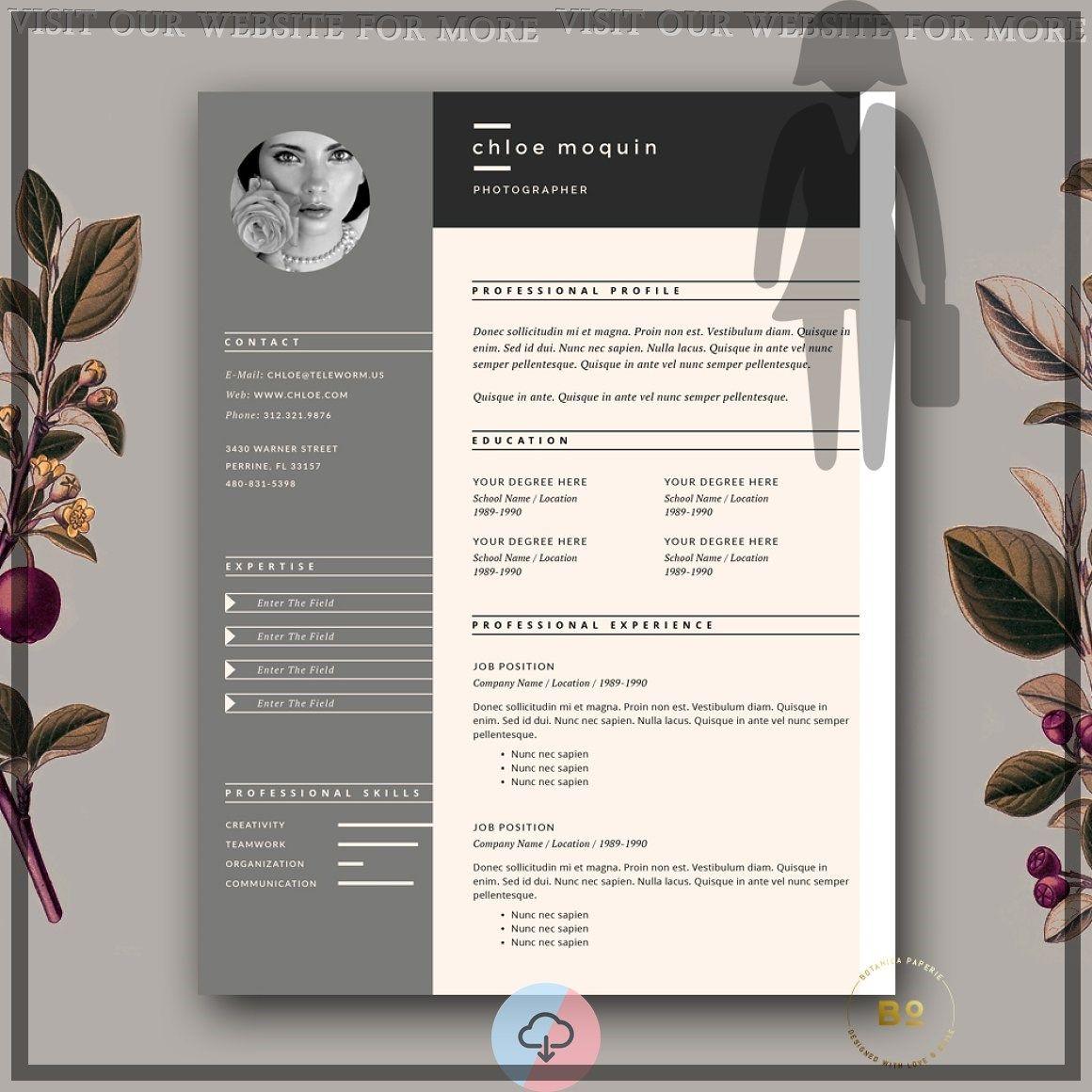 46 Exceptional Cv Template Free Editable Microsoft Word Resume Design Creative Resume Design Creative Resume
