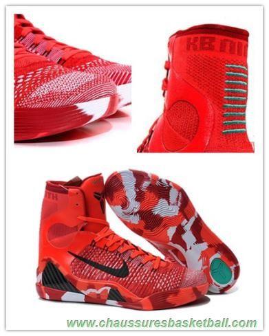 hot sale online 7dba5 59baa chaussures de basketball Hommes 704304-011 Nike Kobe 9 Elite