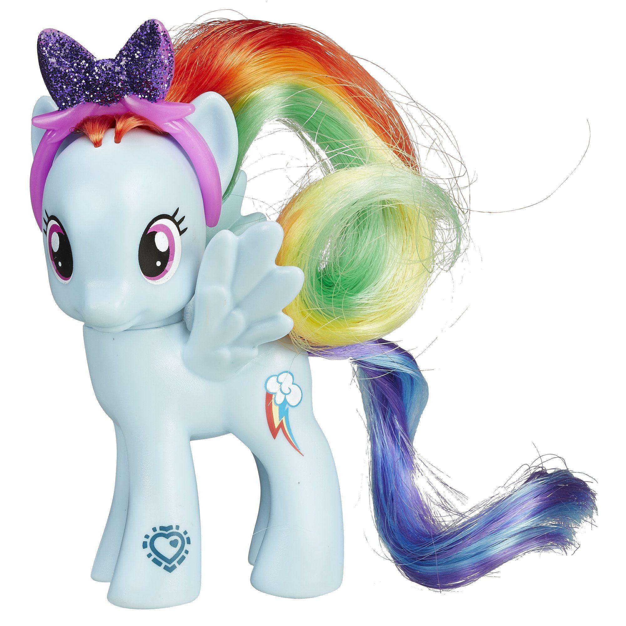 Amazon Com My Little Pony Friendship Is Magic Rainbow Dash Figure