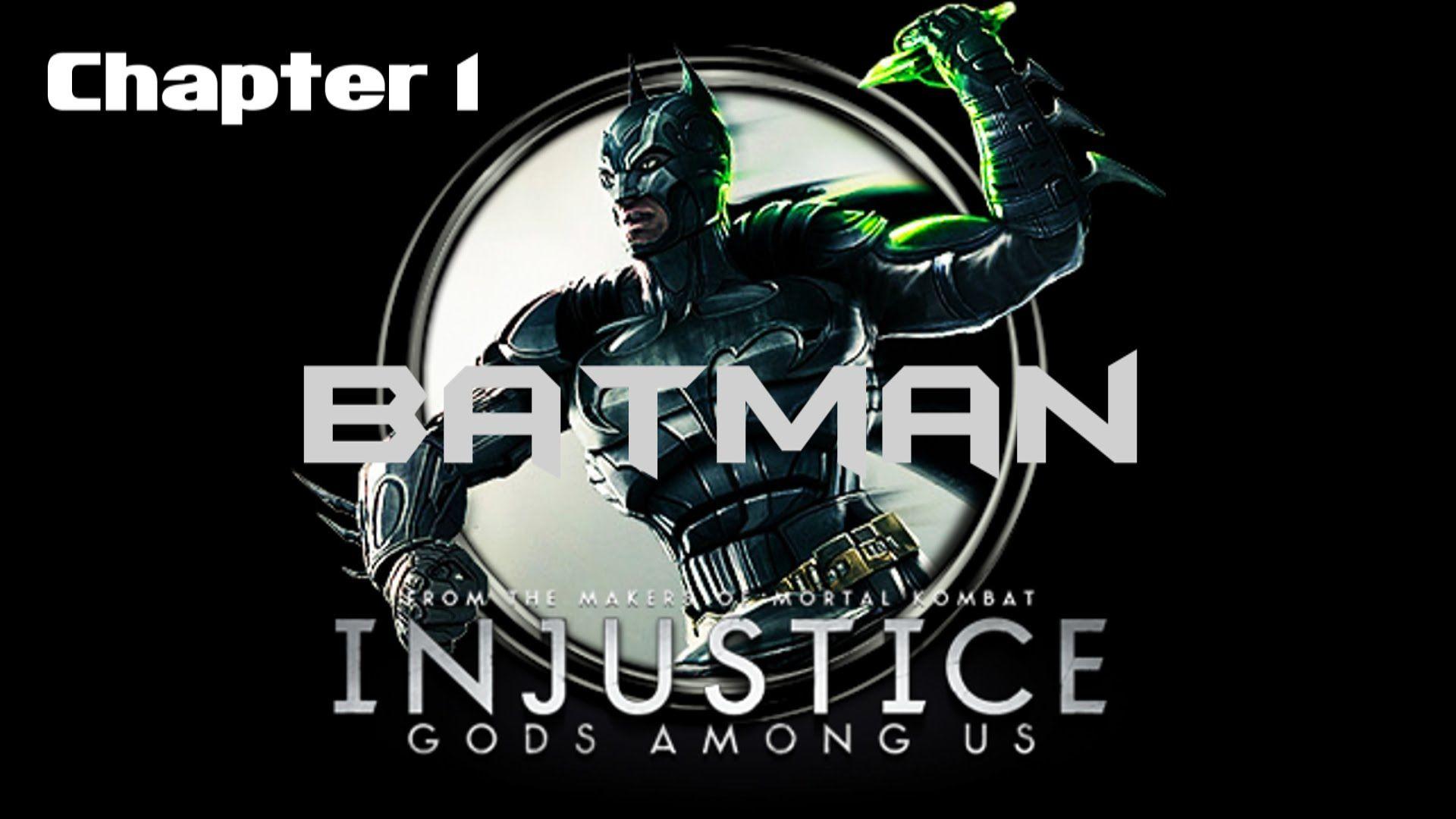 Injustice - Götter unter uns: Chapter 1 - Batman (Game Movie)