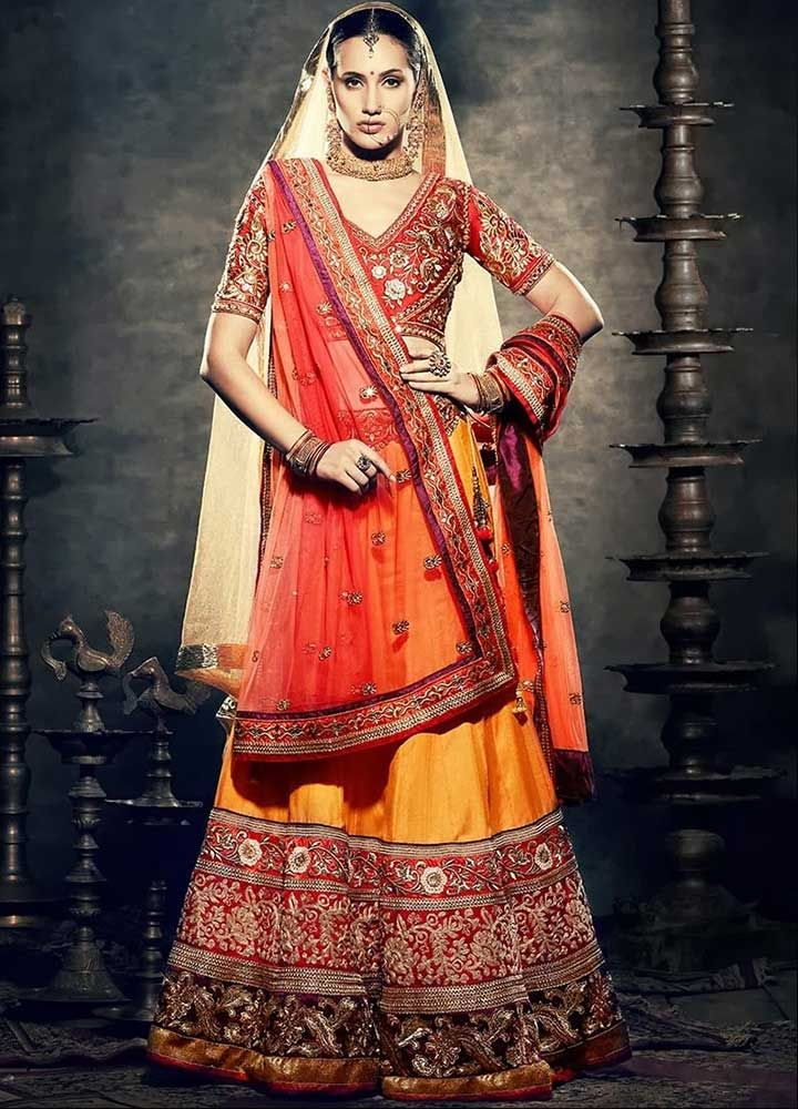 Bridal Lehenga On Rent In Delhi 5 Trusted Places For Best Deals Indian Bridal Wear Red Lehenga Choli Lehenga Choli Online
