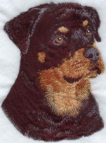 Rottweiler I1032 Dogs Puppies Pinterest Machine Embroidery