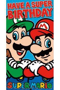 Happy Birthday Mario Bros Birthday Mario Birthday Super Mario