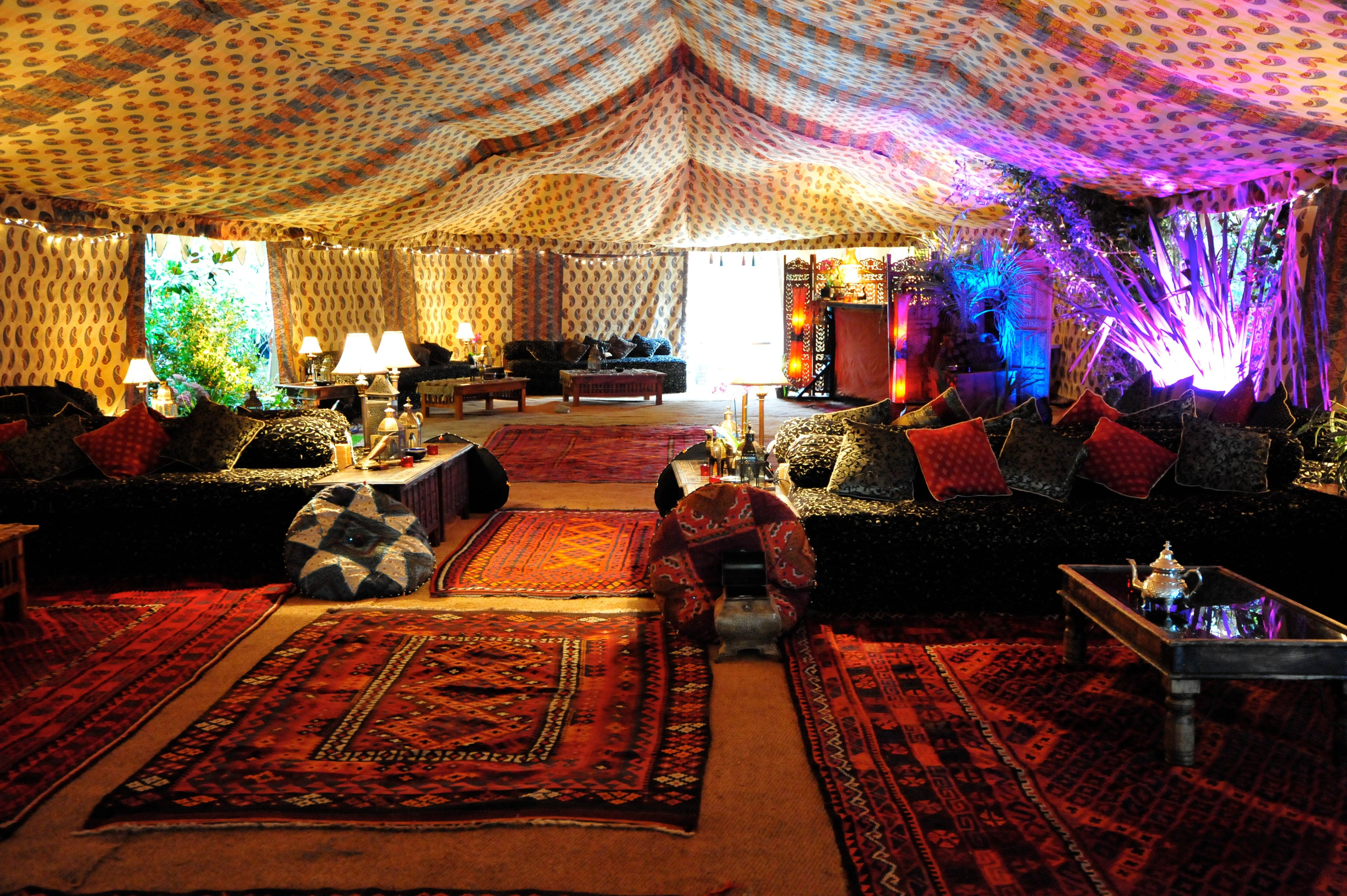 Hire Bedouin Tents & Marquees, Luxury wedding, private ...