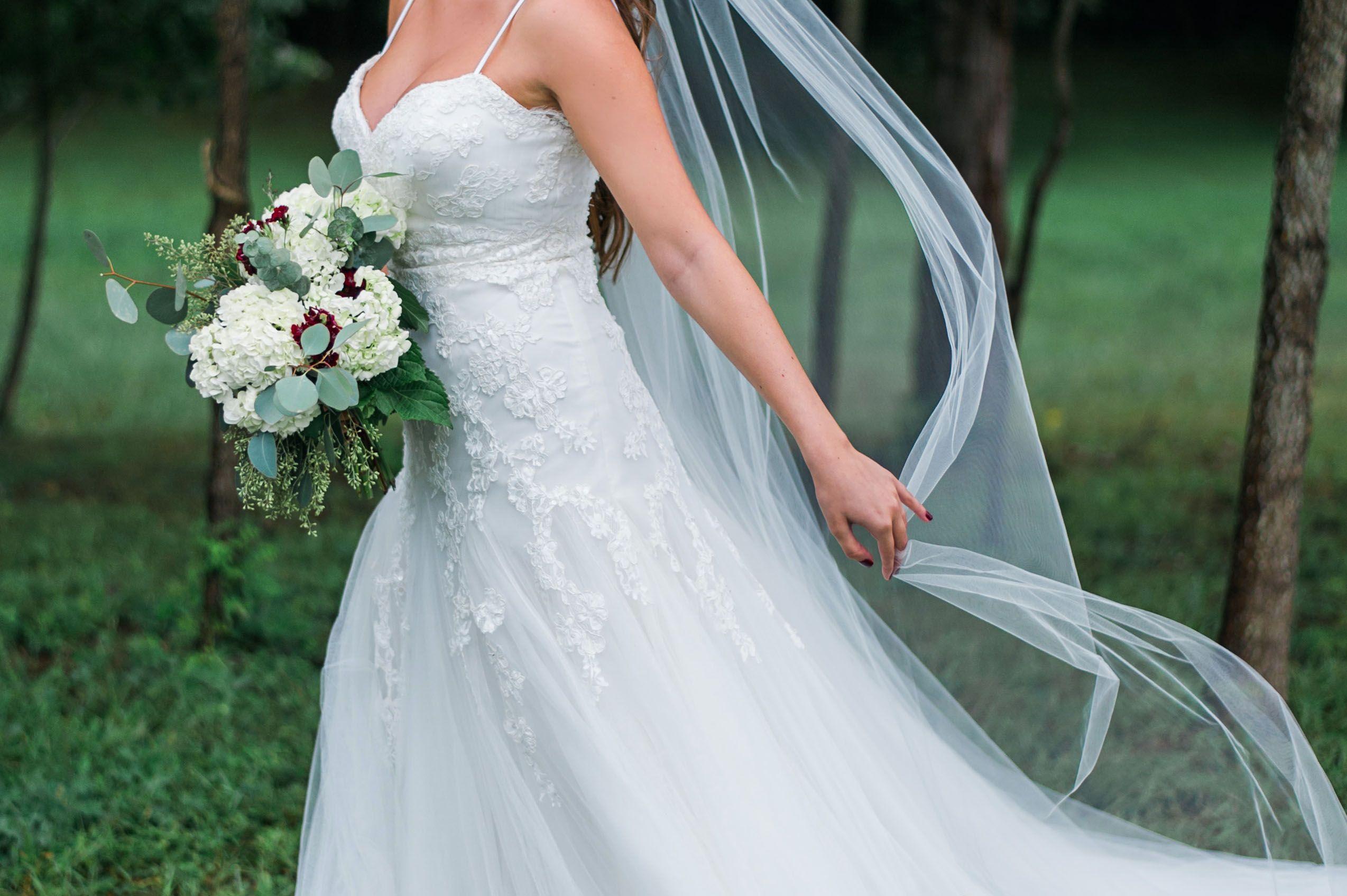 Wedding dress and veil detail shot | Details | Pinterest | Veil ...