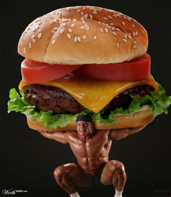 Бургер смешная картинка, мастер-класс